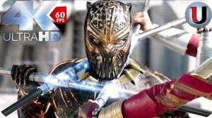 Black Panther - Final battle part 1 - MOVIE CLIP (4K HD)