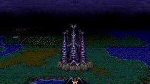 Demon's Crest Boss Battle Phalanx Normal Ending