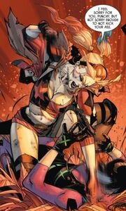 Harley Quinn and Punchline Prime Earth 08