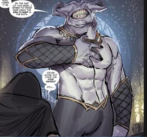 King Shark Aquaman Issue 30