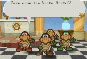 PM Koopa Bros Introducing Themselves
