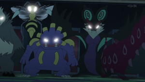 Pokemon possessed by Malamar