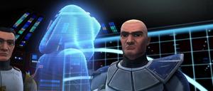Asajj Cody Rex hologram