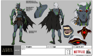 Character Model Sheet Seraphim