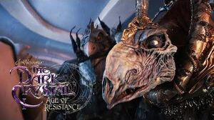HD The Dark Crystal Age Of Resistance - The Skeksis Examine The Gelfling