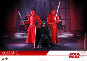Kylo Ren and the guards