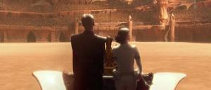 Anakin Skywalker execution arena