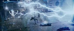 Callisto electrocuted far shot