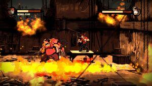 Inferno Using Flamethrower 2
