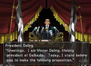 President Deling
