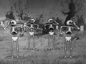 Shocked skeletons