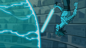 Anakin upside-down blade