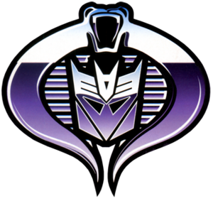 Cobra Decepticon symbol