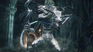 Dark Souls 3 Oceiros, The Consumed King Boss Fight (4K 60fps)