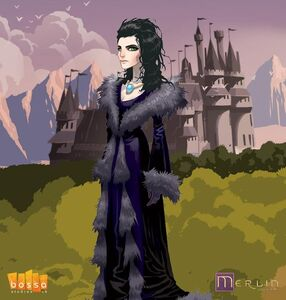 Morgana pendragon in erlin game