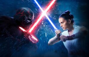 Rey and Kylo Covers Textless