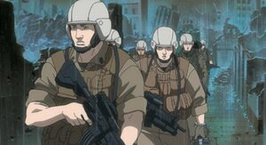 American Empire, Soldiers (Ghost in the Shell, Stand Alone Complex)