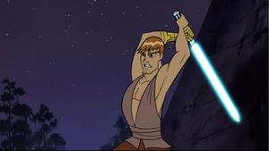 Anakin Skywalker bare-chest