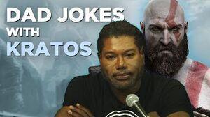 Dad Jokes with Kratos