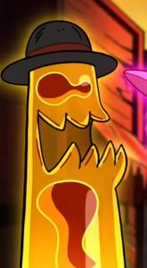 Lava-Lamp Shaped Creature 2