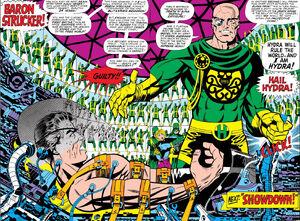 Nick Fury and Baron Strucker Meet Again!! Strange Tales Vol 1 Issue 156