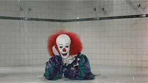 Pennywise shower