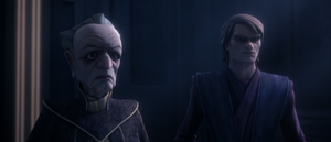 Chancellor Palpatine shocked
