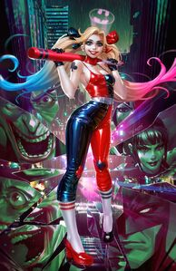 Harley Quinn vol 4 1 textless variant