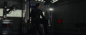 Kylo in the first Force-bond scene