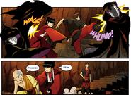 Mai and Kei Lo save Aang