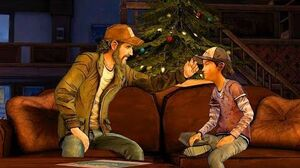 Reunited Kenny and Clementine Talk About Lee (Walking Dead Telltale Games)
