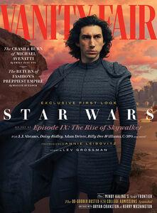 Rise of Skywalker Kylo Ren Vanity Fair Cover