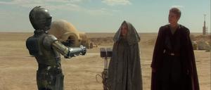 Anakin C-3PO Padmé