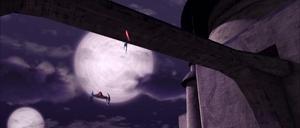 Asajj Ventress jumping