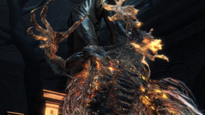 Bloodborne Laurence Awakes