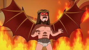 Jesus Looks Like Satan