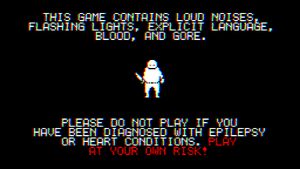 The Warning Screen (Consternation II)