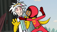 Wordgirl and Two Brains