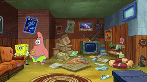 Bubble Bass' Dirty Messy Room