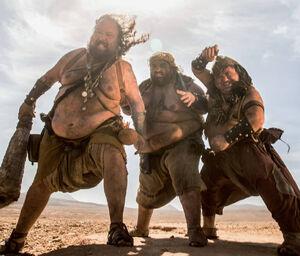 Giants - El Hombre que Mató Don Quijote