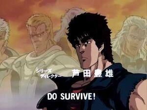 HOKUTO NO KEN OP 1080P FULL HD - Silent Survivor Remaster set by me