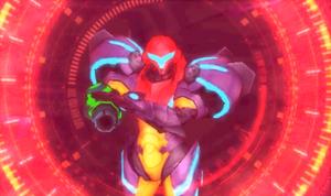 MSR Diggernaut targets Samus