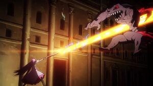 Akame ga Kill Episode 19 Kill the Fate Mine Slices Koro in Half (3)