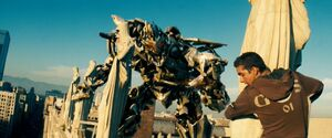 Movie Megatron Samonroof