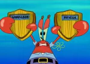 Mr. krabs trophy butts