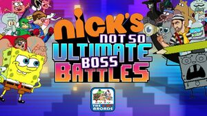 Nick's not so ultimate boss battles title screen