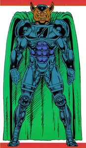 Man-Beast (Earth-616) from Official Handbook of the Marvel Universe Master Edition Vol 1 28 0001