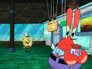 Mr krabs jair jellyfish