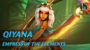 Qiyana Empress of the Elements Champion Trailer