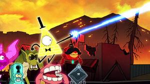 S2E18 Bill fires a laser beam